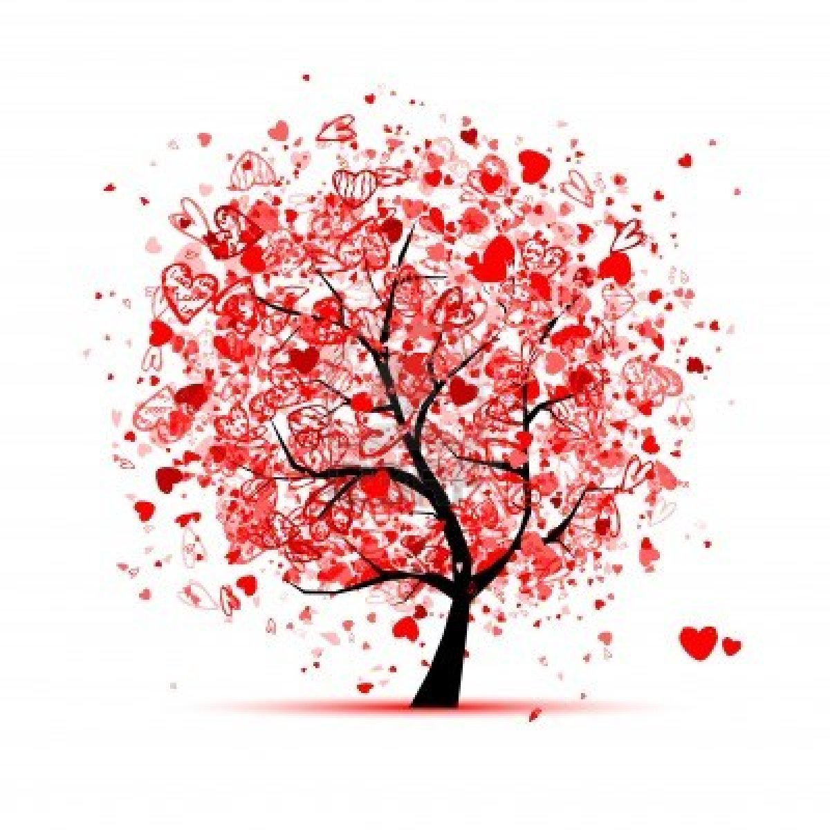 12016567 valentine tree with hearts for your design - 123rf image gratuite ...